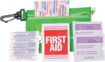 Zipper Tote With Clip Express First Aid Kit - No Meds