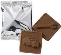Nelson Molded Chocolate Squares