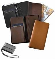 Slimline Passport/Document Holder - Florentine Napa 6.5 oz.