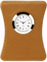 Terra Leather Clock