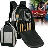 Deluxe BBQ Backpack Set