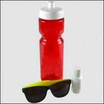 Transparent Bottle Sun Kit -BPA-free