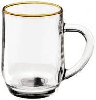 10 oz. Glass Haworth Coffee Mug