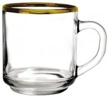 10 oz. Capri Glass Coffee Mug