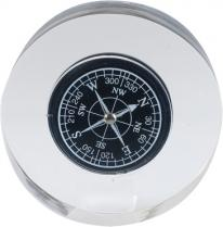 Resin Compass Paperweight