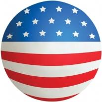 Flag Ball Squeezie