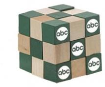 "2"" Wooden Cube Puzzle"