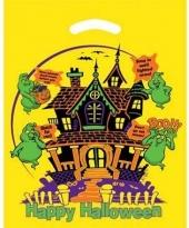 Yellow Die Cut Haunted House