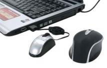 2 in 1 Desktop/Laptop Mouse