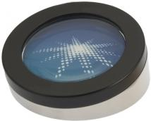 Big Picture Magnifier & Paperweight (Black/Silver)
