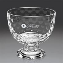 Royal Golf Bowl Italian 24% Lead Crystal