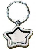 Star Shaped Key Holder With Swiveling Star