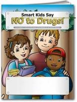 Coloring Book: Smart Kids Say No to Drug