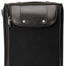 Bolzano Black Nylon/Luccahyde Trolley Case