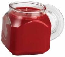 Cross Aromatherapy Wax Candle 18oz Glass Emma SQ Jar 18oz