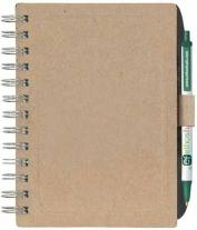 BIC� Ecolutions� Chipboard Cover Notebook