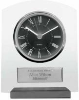 Applause Award Timepiece Plaque With Plate