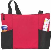 Atchison Double Pocket Zippered Tote