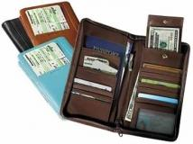 International Document/Passport Case-Venetian Leather 11 oz.
