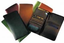 Airline Ticket/Passport Case - Venetian Leather 6.2 oz.