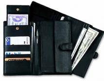 Multi Currency Passport Case - Florentine Napa 4.9 oz.