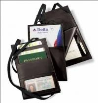 6.8 oz. Genuine Split - Hanging Travel Document Holder