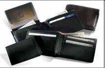 2.3 oz. Florentine Napa - Removable Passcase Wallet