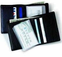 Two-Fold Wallet - Florentine Napa 1.8 oz.