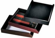2 Lbs. 12.7 oz. Cowhide Leather - Chiefs Document Tray