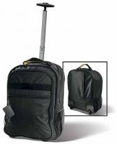 5 Lbs. 4.1 oz. A. SAKS Expandable Trolley Laptop Backpack