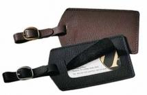 Leather/Nylon Metro Leather Luggage Tag
