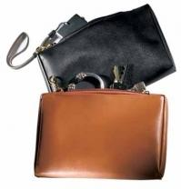 6.9 oz. Synthetic Leather - Valuables Pouch