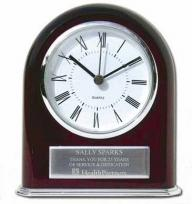 Regency Arch Award Timepiece With Plate
