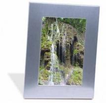 Silver Acclaim Frame (holds 5x7 Image)