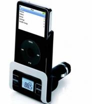 jWIN iLuv FM Transmitter/Car Adapter For iPods