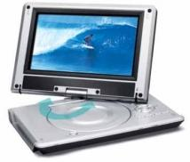 "jWin 9"" Portable DVD Player"