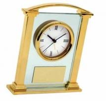 Brass Desktop Clock