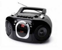 jWin Portable CD Player With AM/FM Radio & Cassette