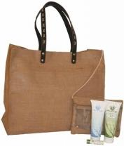 Large Jute Beach Bag
