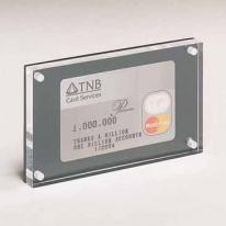 Acrylic 1-Sided Credit Card