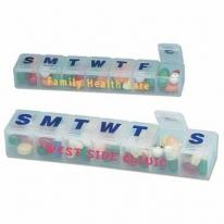 Large Weekly Planner Pill Box