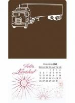 Press-N-Stick Supersize Spanish Calendar