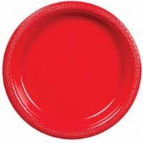 "9"" Colored Plastic Plates"