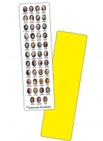 ".015"" Presidential Bookmarks - Full Color"