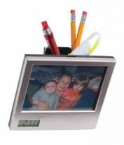 Picture Clock Pencil Box