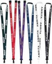 "3/8"" P.E.T. Recycled Silk Screen Lanyard"