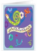 Birthday Swirl Greeting Card