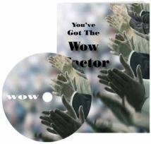 Wow Factor Card & CD