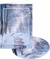 Snowy Mtn. Jazz Cafe-Just A Card -w/Three For-ever-imprint