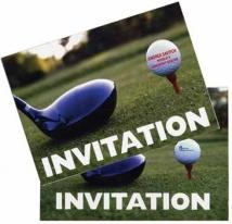 VDP Golf Invitation & Thank You